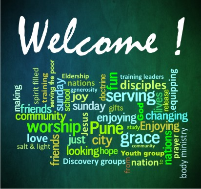Welcome to Word of Grace Church, Pune