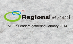 Regions Beyond leaders gathering Session 5 |Tim Davies